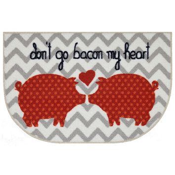 Food Network Don't Go Bacon My Heart Rug - 20'' x 30''