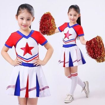 ESBON New Kid Children Academic Dress Primary School Uniforms Set Kid Student Costumes Girl Boy Dr Suit Graduation Cheerleader Suits