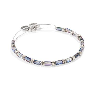 Night Sky Starlit Canvas Beaded Bangle