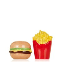 Burger and Chips Salt And Pepper Shakers