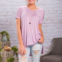 The Weekend Tee, Lilac