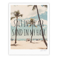 "Nastasia Cook ""Salt in the Air"" Beach Trees Fine Art Gallery Print"