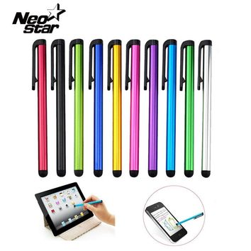 10pcs Capacitive Touch Screen Stylus Pen For IPad Air Mini 2 3 4 For IPhone 4s 5 6 7 Samsung Universal Tablet PC Smart Phone