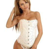 Sexy Lingerie Sexy Women's Corset  Bridal Embroidered Steel Boned Corset Hot Sale Women's Corsets Bustiers