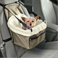Cute Hammock Style Pet Dog Carrier With Leash