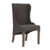 Marina Dining Chair Charcoal Gray