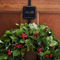 Square Door Wreath Hanger