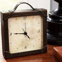 Luggage Clock | Pottery Barn