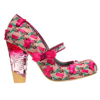 Secret Pair Pink Bow Heels by Irregular Choice