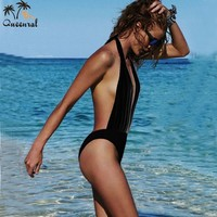 one piece swimsuit  sexy swimwear swimsuit  monokini swimsuit female bathing suit  one piece swimming suit for women