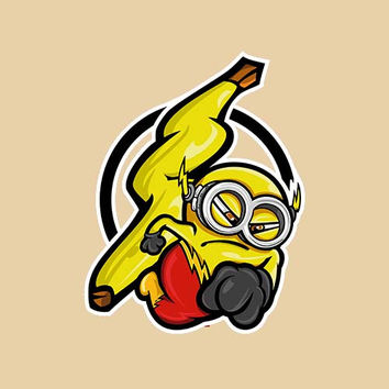Flash Minion Adult Tee Shirt