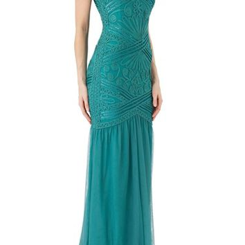 JS Collections Soutache Gown | Nordstrom