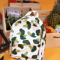 Broccoli Backpack by TYAKASHA | Mini