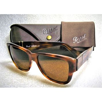 Persol Ratti Meflecto NOS Vintage 69218 Rare Miami Vice Don Johnson Sunglasses