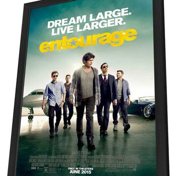 Entourage 27x40 Framed Movie Poster (2015)