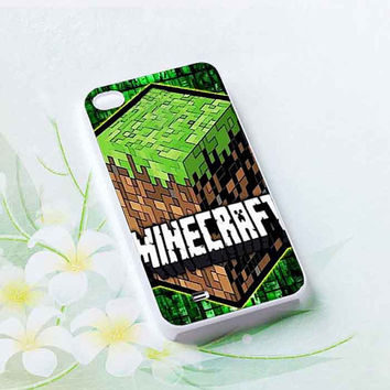 New Minecraft Creeper Game Land customized for iphone 4/4s/5/5s/5c, samsung galaxy s3/s4/s5 and ipod 4/5 cases