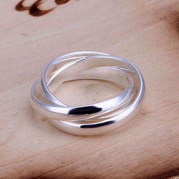 R167 fashion classic ring silver classic ring,high quality ,fashion jewelry, Nickle free,antiallergic pajr fnux