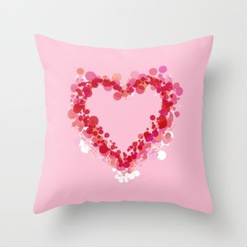 Be Still My Heart Throw Pillow by Lisa Argyropoulos | Society6