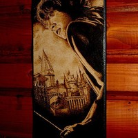 RESERVED Harry Potter art - Ron Weasley woodburned home decoration