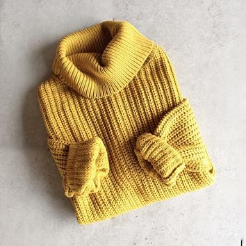 citrus oversize sweater - more colors