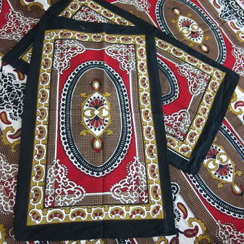 India Inspired Bed Cover 3pc Authentic Handloom Galicha Cotton Bedspreads Pillow Covers