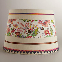 Floral Ribbon Table Lamp Shade | World Market