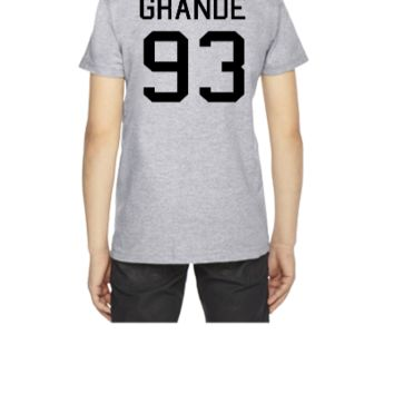 Ariana Grande 93 black - Youth T-shirt