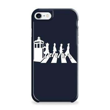 doctor who tardis the beatles abbey road iPhone 6 | iPhone 6S Case