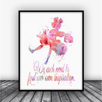Kiki's Delivery Service Quote Art Print Poster