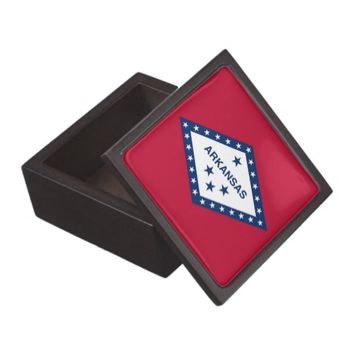 Arkansas State Flag Premium Gift Box