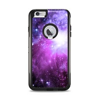 The Violet Glowing Nebula Apple iPhone 6 Plus Otterbox Commuter Case Skin Set