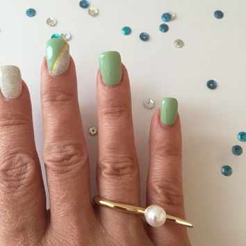 Odalis Pearl Ring - Gold or Silver