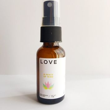 Love - Meditation/Body Mist - Made with All Organic Ingredients