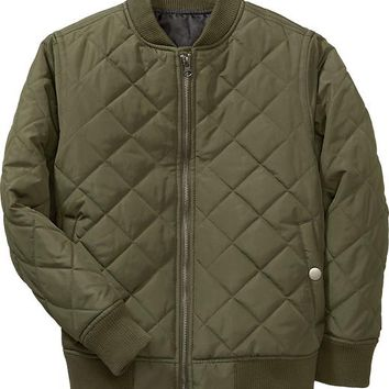 Old Navy Boys Quilted Bomber Jackets