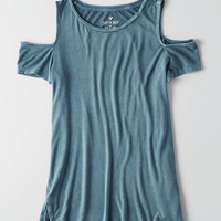 AEO SOFT & SEXY COLD SHOULDER T-SHIRT