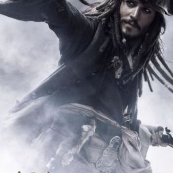 Pirates Of The Caribbean Johnny Depp Poster 16inx24in