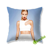 Iggy Azalea Holiday Square Pillow Cover