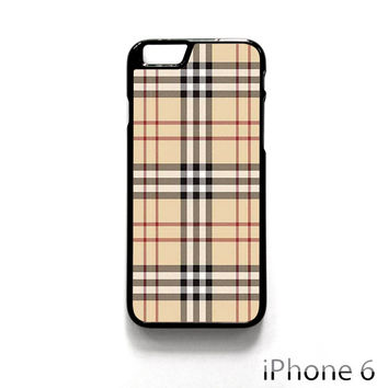 Burberry Pattern for Iphone 4/4S Iphone 5/5S/5C Iphone 6/6S/6S Plus/6 Plus Phone case