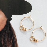 Golden Rule Earrings