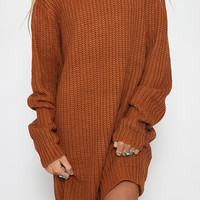 Broken Hearted Girl Knit - Brown