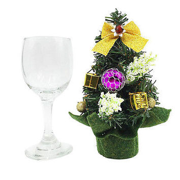 Christmas Gift 20cm Christmas Tree Table Display Xmas Party Ornament Decor HU
