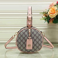 Gucci Women Leather Shoulder Bag Handbag Backpack