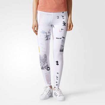 adidas Info Poster Leggings - Multicolor | adidas US
