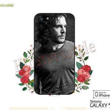 Game of Thrones Phone Cases, iPhone 5/5S/5C Case, iPhone 4/4S Case, kit harington Galaxy S3 S4 S5 Note 2 Note 3 Case for iPhone-A090