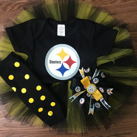 ANY sports team tutu outfit SET