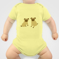 Pug lover presents Onesuit by Uma Gokhale | Society6