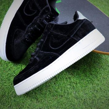Nike Air Force 1 Mid '07 Trending Low Running Sport Fashion Casual Sneakers Shoes Black G-XYXY-FTQ
