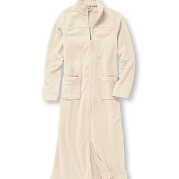 Women's Winter Fleece Robe, Zip-Front: Sleepwear and Underwear | Free Shipping at L.L.Bean