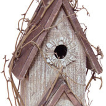 Rustic Country Birdhouse - *FREE SHIPPING*
