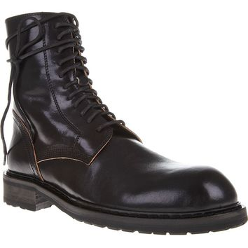 Ann Demeulemeester Military-Style Boot